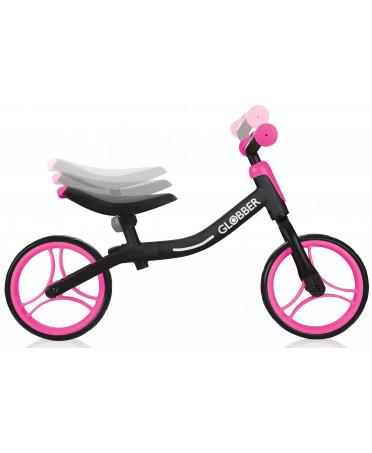 Globber odrážadlo GO BIKE - Black / Neon pink