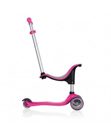 Globber Kolobežka GO-UP Sporty Neon Pink