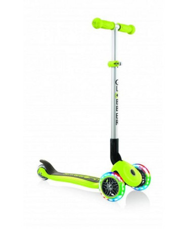 Globber Kolobežka Primo foldable Lights Lime Green