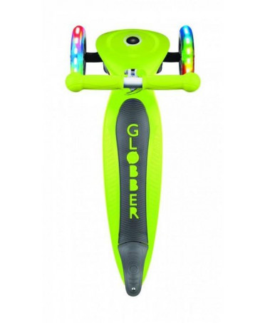 Globber Kolobežka Primo foldable Lights Lime Green