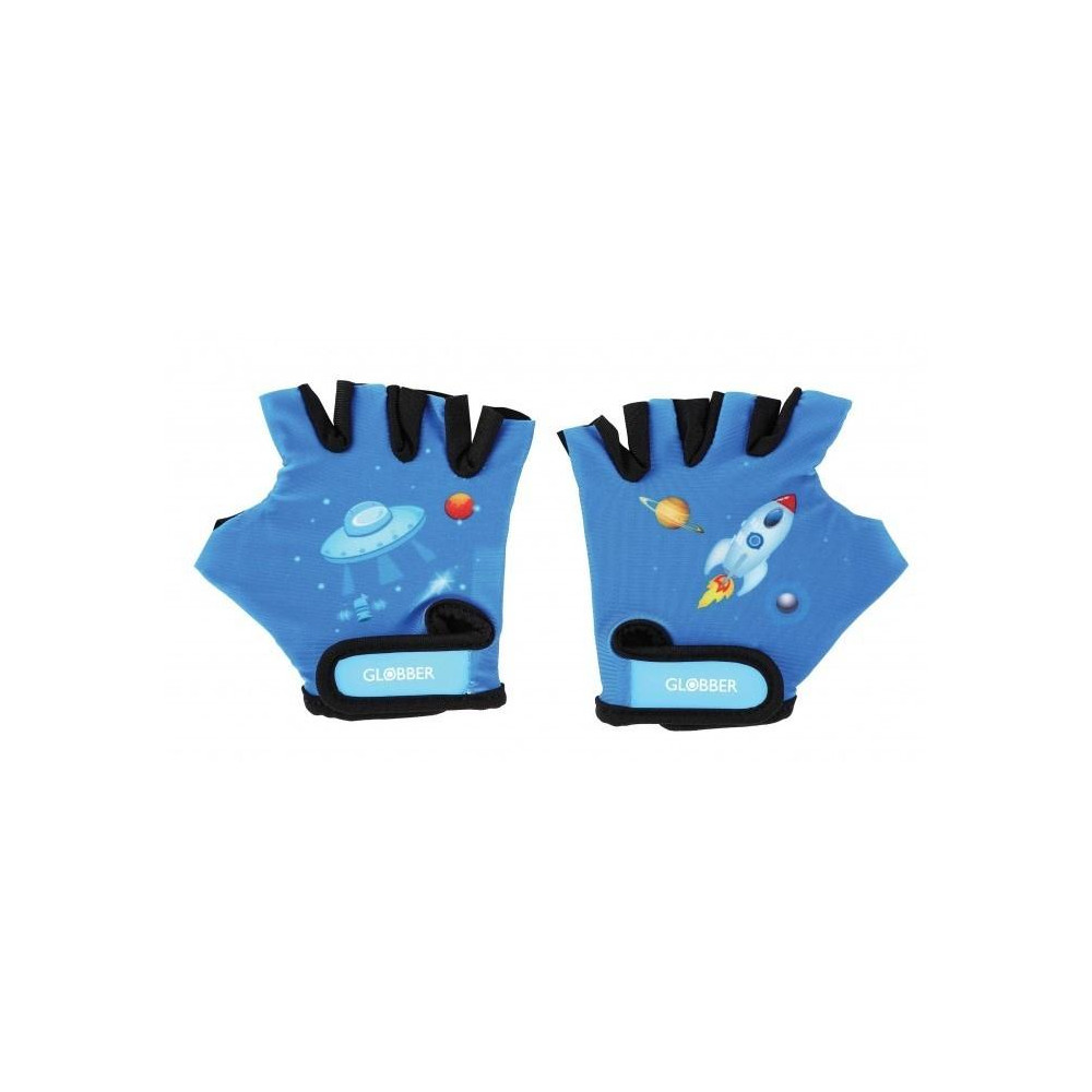 Globber Toddler detské ochranné rukavičky XS - rocket navy blue