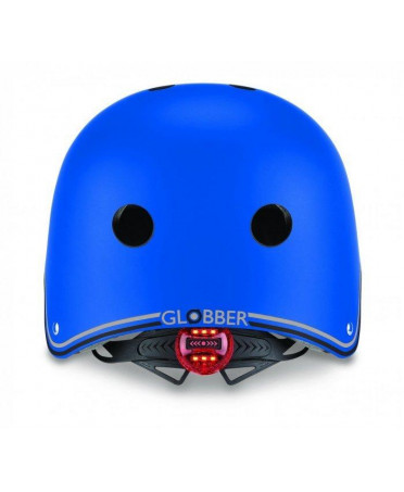 Globber detská prilba JUNIOR PRIMO LIGHTS Navy Blue XS/S (48-53 cm)