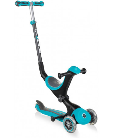 Globber Kolobežka GO-UP Deluxe Light Teal