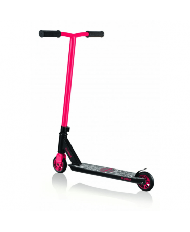Globber Freestyle Kolobežka STUNT SCOOTER GS 360 Black / Red