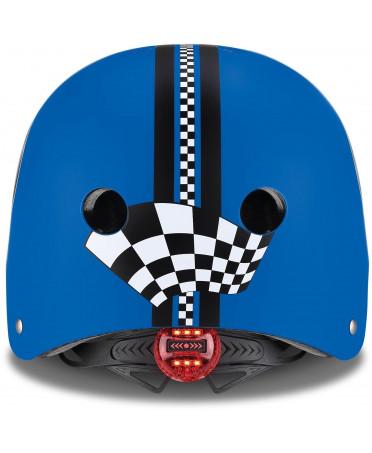 Globber Detská helma Elite Lights Navy Blue - Racing XS/S