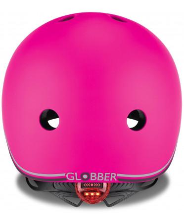 Globber Detská helma Go Up Lights Neon Pink XXS/XS