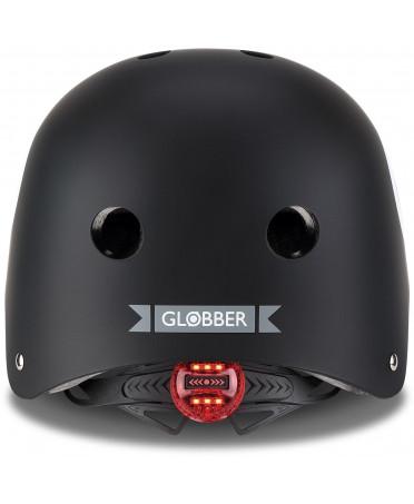 Globber Detská helma Elite Lights Black - 8-Ball XS/S
