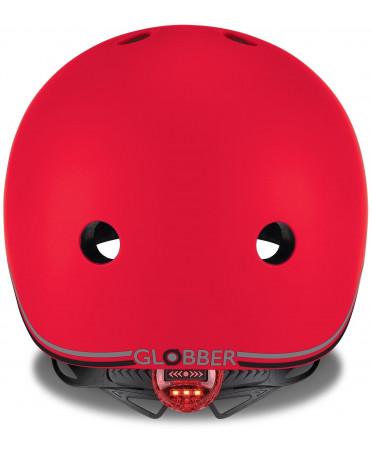 Globber Detská helma Go Up Lights New Red XXS/XS