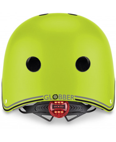 Globber Detská helma Primo Lights Lime Green XS/S