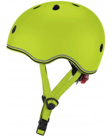 Globber Detská helma Go Up Lights Lime Green XXS/XS