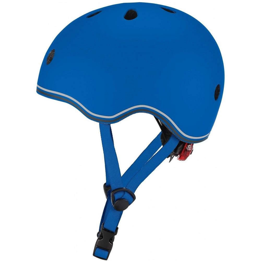 Globber Detská helma Go Up Lights Navy Blue XXS/XS