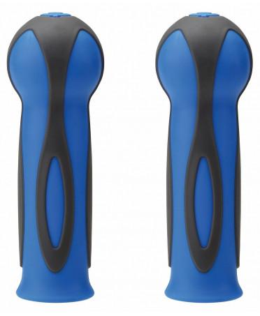 Globber dvojfarebné gripy Black  / Navy Blue