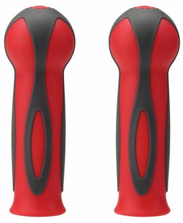 Globber dvojfarebné gripy Black  / New Red