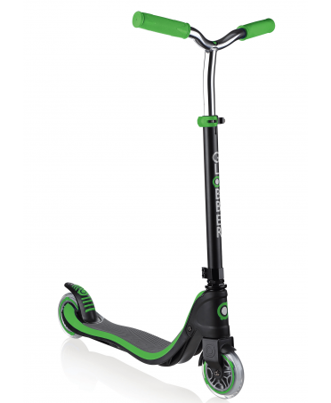 Globber Kolobežka Flow 125 Black / Neon Green
